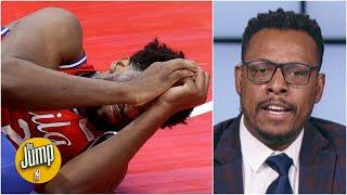Paul Pierce is 'very concerned' about Joel Embiid's injury because Pierce had it before | The Jump