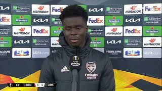"""""""They got a lucky penalty"""" Bukayo Saka knows there's still work to do when Benfica come to Arsenal"""