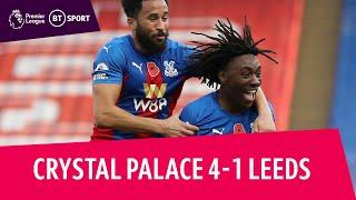 Crystal Palace vs Leeds United (4-1) | Premier League highlights