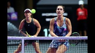 Hsieh/Strycova vs. Xu/Dabrowski | 2019 WTA Finals | WTA Highlights