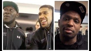 UNFINISHED BUSINESS? - (ANTHONY JOSHUA v DILLIAN WHYTE) / THE MOST HEATED CONFRONTATIONS & EXCHANGES