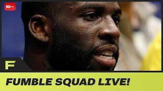 Draymond Green Responds To Being Fined $50K For Tampering! Fumble Live