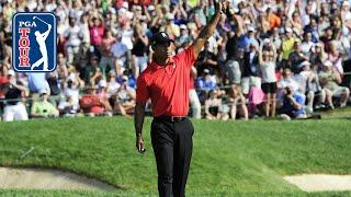 Tiger Woods' final-round 67 at the 2012 Memorial Tournament