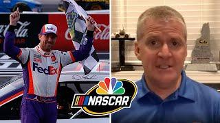 NASCAR America at Home: Denny Hamlin deserves more respect after 41st Cup win | Motorsports on NBC