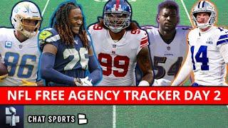 NFL Free Agency Tracker: All The Latest Signings & Roster Moves | Day 2 Of 2021 NFL Free Agency