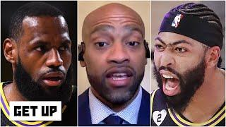 Vince Carter's observations about Anthony Davis, LeBron and the Lakers following Game 2 | Get Up