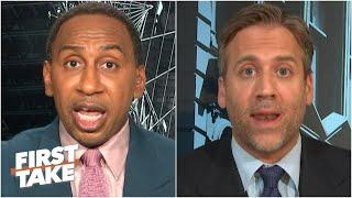 Stephen A. & Max discuss President Trump supporting college football in the fall | First Take