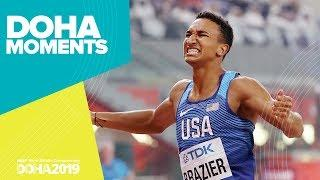 Championship Record for Brazier in 800m Win | World Athletics Championships 2019 | Doha Moments