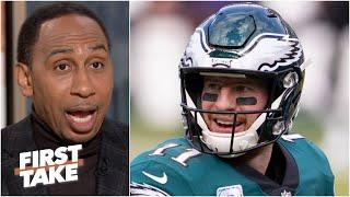 'Carson Wentz won't live it down' if the Eagles lose to the Cowboys - Stephen A. | First Take
