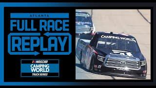 Fr8Auctions 200 from Atlanta Motor Speedway | NASCAR Camping World Truck Series Full Race Replay