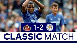 Joachim Shines In Vintage Foxes Win | Sunderland 1 Leicester City 2 | Classic Matches