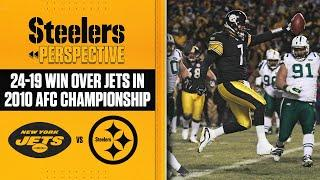 Steelers Perspective: 2010 AFC Championship vs Jets   Pittsburgh Steelers