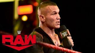 Randy Orton calls out Drew McIntyre for SummerSlam: Raw, July 27, 2020