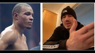 'YOU ARE F*** ALL! - FIGHT ME THEN. YOU'RE JUST A P****' -LIAM WILLIAMS SAVAGE RESPONSE TO EUBANK JR