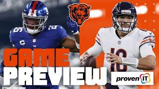 Chicago Bears vs. New York Giants Game Preview (Week 2)