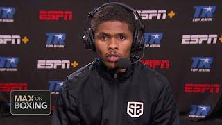 Shakur Stevenson targets a future fight vs. Miguel Berchelt | Max on Boxing