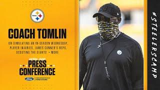 Steelers Virtual Camp Press Conference (Sept. 2): Coach Mike Tomlin | 2020 Training Camp