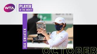 Iga Swiatek | Player of the Month | October 2020