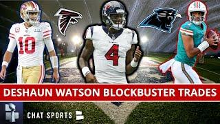 Deshaun Watson Trade Rumors: 6 BLOCKBUSTER NFL Trades Sending The Texans QB Out Of Houston In 2021