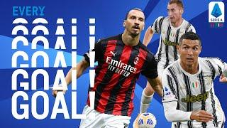 Zlatan, CR7 and Kulusevski in Goal! | EVERY Goal | Round 1 | Serie A TIM