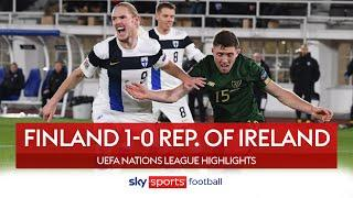ROI poor form continues after Finland loss | Finland 1-0 Rep. of Ireland | Nations League Highlights
