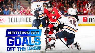 Nothing But Goals Off the Draw | 2019-20 NHL Season