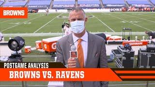 Browns vs. Ravens Postgame Analysis | Cleveland Browns