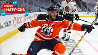 NHL Plays Of The Week: There's No Stopping Connor McDavid | Steve's Hat-Picks
