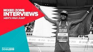 Men's High Jump Interviews | World Athletics Championships Doha 2019