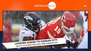 Looking ahead to Kansas City: How the Broncos might prepare for the Chiefs   Broncos Beat
