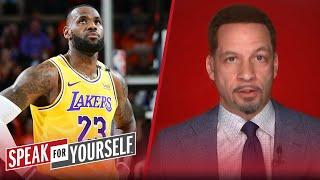 Lakers' first-round exit would have no impact on LeBron's legacy | NBA | SPEAK FOR YOURSELF