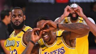 The Jump reacts to the Lakers' Game 1 blowout vs. the Heat | 2020 NBA Finals