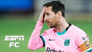 Lionel Messi is hurting himself by trying to do too much for Barcelona - Ale Moreno | ESPN FC