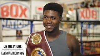 'IN CAMP IN VEGAS, JOYCE LOOKED PHENOMENAL' - LERRONE RICHARDS ON JOYCE-DUBOIS & 'SEXY' 168 DIVISION
