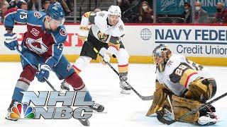 NHL Stanley Cup 2021 Second Round: Knights vs. Avalanche   Game 5 EXTENDED HIGHLIGHTS   NBC Sports