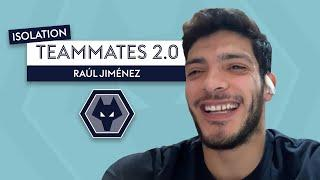 Is Raul Jimenez going to shave his own hair?!   Raul Jimenez   Isolation Teammates 2.0