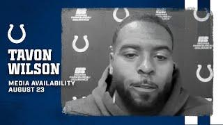 Tavon Wilson On Joining Colts, Leadership Role