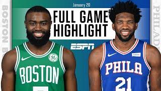 Boston Celtics vs. Philadelphia 76ers [FULL GAME HIGHLIGHTS] | NBA on ESPN