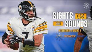 Mic'd Up Sights & Sounds: Pittsburgh Steelers Week 1 win over the New York Giants