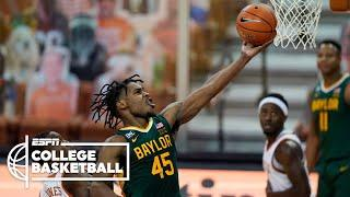 No. 2 Baylor tops No. 6 Texas on the road, extending streak [HIGHLIGHTS] | ESPN College Basketball