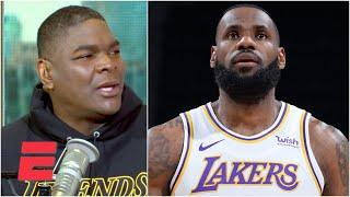 Keyshawn says listen to LeBron James about his minutes | Keyshawn, JWill & Zubin