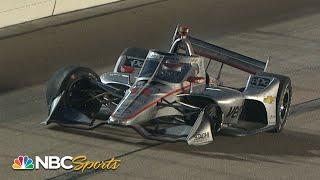 Will Power loses front tire, brings out caution in Grand Prix at Iowa Race 1 | Motorsports on NBC