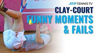 Funny Tennis Clay-Court Moments & Fails