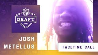 FaceTime Call With Minnesota Vikings Sixth Round NFL Draft Pick Josh Metellus