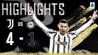 Juventus 4-1 Udinese | Ronaldo, Chiesa and Dybala Score In Big Win! | Serie A Highlights