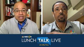 Aaron Rodgers gets wake-up call with Jordan Love - Rodney Harrison | Lunch Talk Live | NBC Sports