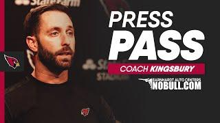 Coach Kingsbury: 'We All Have To Be Better'   Arizona Cardinals
