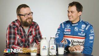 Questions in a Milk Bottle: Graham Rahal reveals childhood celebrity crush | Motorsports on NBC
