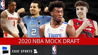 2020 NBA Mock Draft: 1st Round Feat. James Wiseman, Anthony Edwards, LaMelo Ball & Cole Anthony