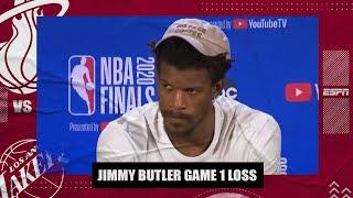 Jimmy Butler remains focused on Heat making adjustments after Game 1 loss | 2020 NBA Finals